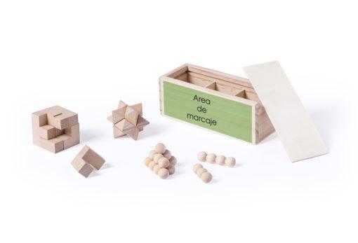 Juego habilidad madera personalizado