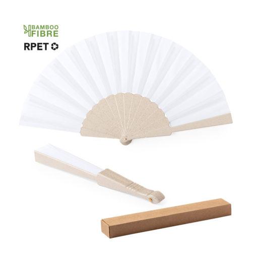 abanico bambú reciclado