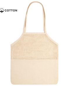 bolsa de redecilla algodón personalizable