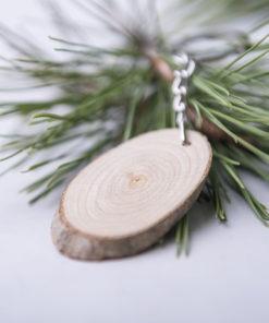 llavero madera haya