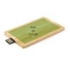 memoria usb tarjeta madera personalizado