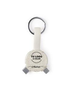 cargador USB caña de trigo personalizado