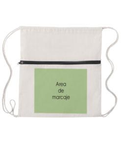 mochila selcam algodón personalizada