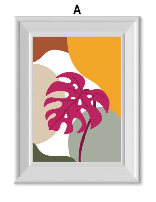 laminas decorativas con temas tropicales