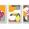 láminas decorativas temas tropicales