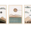 laminas paisajes en acuarelas