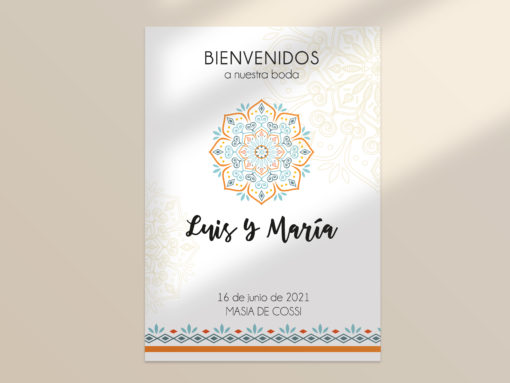 cartel boda editable mandala SALSAO