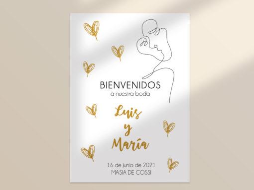 cartel boda imprimible SALSAO