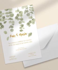 invitacion boda digital imprimible SALSAO