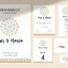 kit papeleria boda editable mandala SALSAO