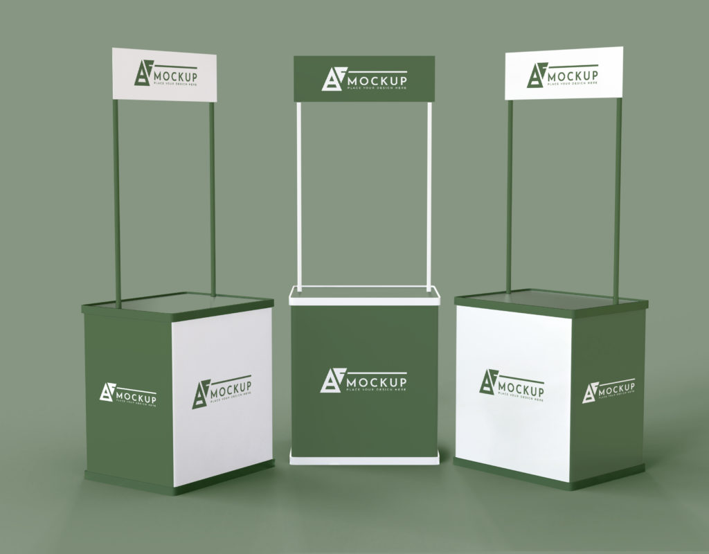 expositores para stands
