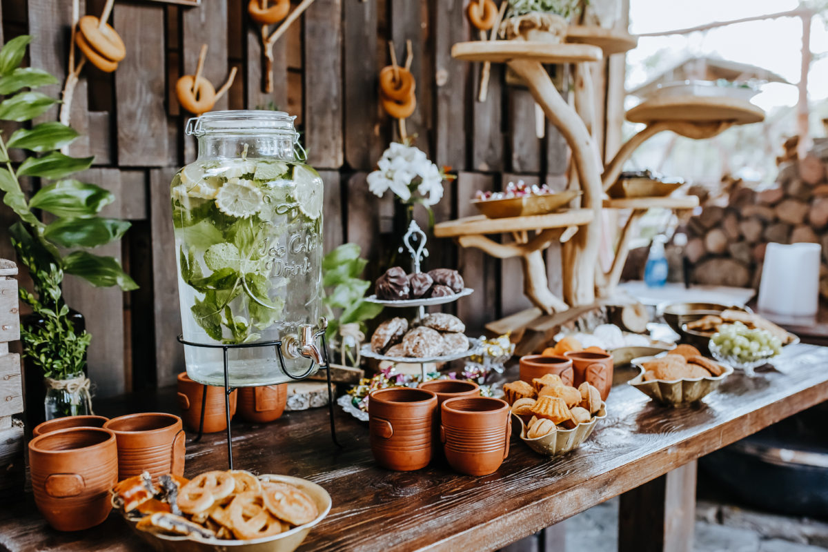 muebles para mesa de dulces eventos