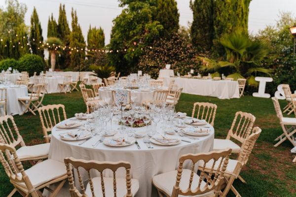 decoracion boda en exteriores